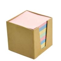 Хартиено кубче с картонена кутия