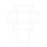 Печат на опаковки - кутия без лепене