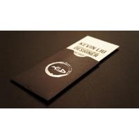 Печат на визитки в джоб с рязане по контур - 4+4 цвята (пълноцветни, двустранни)