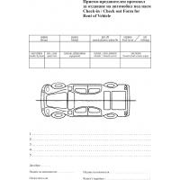 Е13938 Приемо предавателен протокол за отдаване на автомобил под наем
