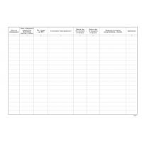 Е016363 Дневник за регистриране и водене на отчет на извършените предпътни технически прегледи