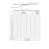 Е016092 Формуляр месечен отчет за получени и изплатени суми за участия в хазартната игра в казино приложение 7 към чл 3, ал 1