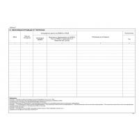 SP04622 Отчетна книга за оползотворяване и или обезвреждане на отпадъци Приложение 4