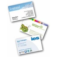 Печат на визитки - 4+0 цвята (пълноцветни, едностранни)