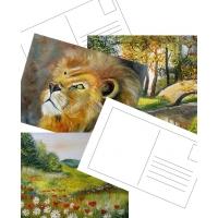 Благотворителни пощенски картички HELP ALEX