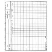 Ка03.1 Картон за аналитично отчитане на материали М12 голям